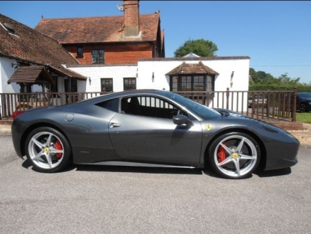 grey ferrari 458 used car for sale. Black Bedroom Furniture Sets. Home Design Ideas