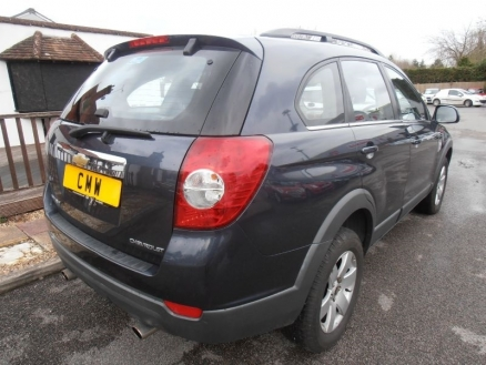 Used Chevrolet Captiva for sale in UK